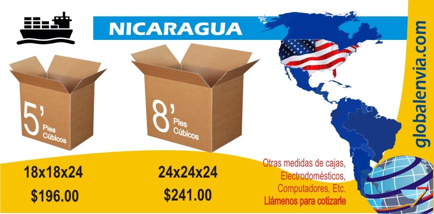 envios-maritimos-desde-orlando-hacia-nicaragua-globalenvia