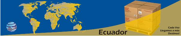 Envíos a Ecuador desde Orlando