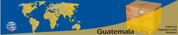 Envíos a Guatemala desde Orlando