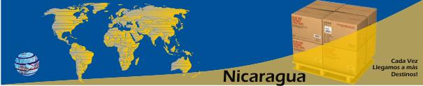 Envios a Nicaragua desde Orlando