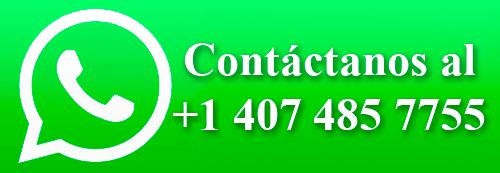 contactanos al +1 407 485 7755