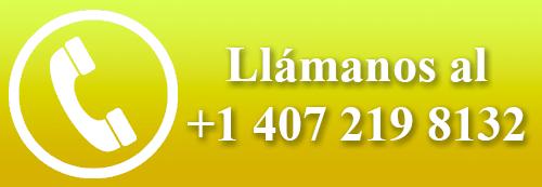 llamanos al +1 407 219 8132