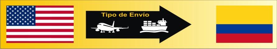 envío de paquetes a colombia